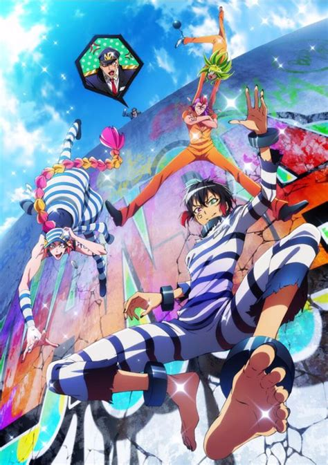 hot anime on crunchyroll crunchyroll prison comedy anime quot nanbaka quot adds cast
