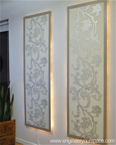 decorative lighted wall panels how to lighted wall panels smart diy solutions for