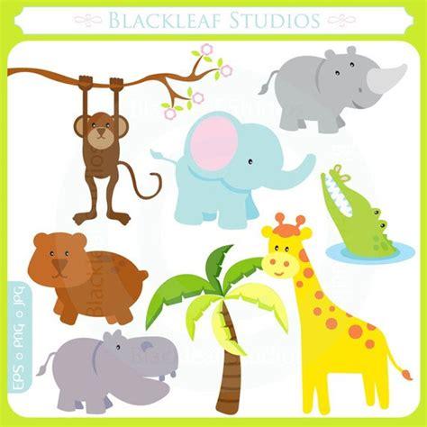 jungle animal templates items similar to baby safari animals jungle mod