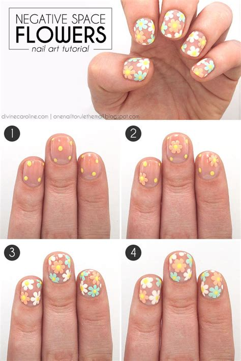 nail art negative space tutorial 15 gorgeous nails tutorials that are as easy as pie