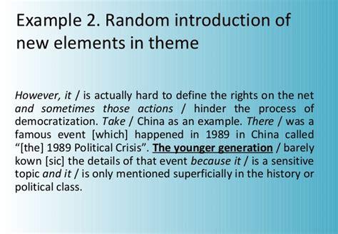 theme rheme definition hawes conf 10