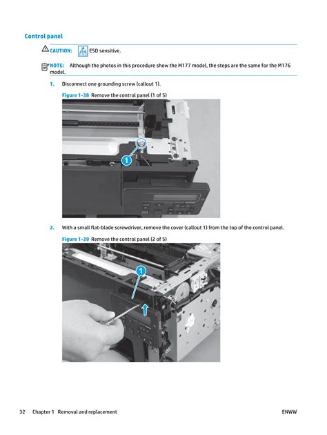 Printer Hp M177 Fw hp colorlaserjet pro mfp m176 m176n m177 m177fw parts and service manual pdf