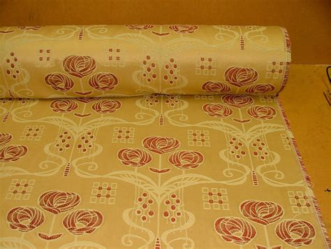 mackintosh fabrics curtain rennie mackintosh gold wine thick jacquard curtain upholstery cushion fabric 163 14 99