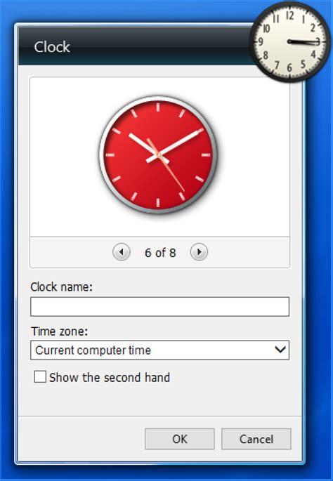 best gadgets for windows 7 add a clock desktop widget in windows 10 top