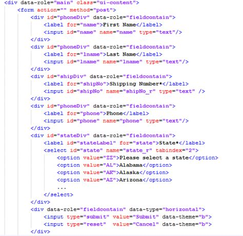 sle codeigniter application membuat form login jquery mobile membuat form di jquery mobile
