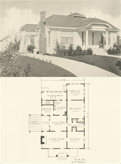 modern clipped gable transitional bungalow plans