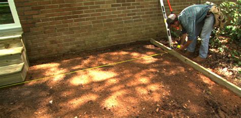 A Patio by How To Lay A Paver Patio Today S Homeowner