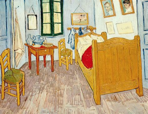 description de la chambre de gogh 1889 gogh la chambre or photo de 6tt gogh