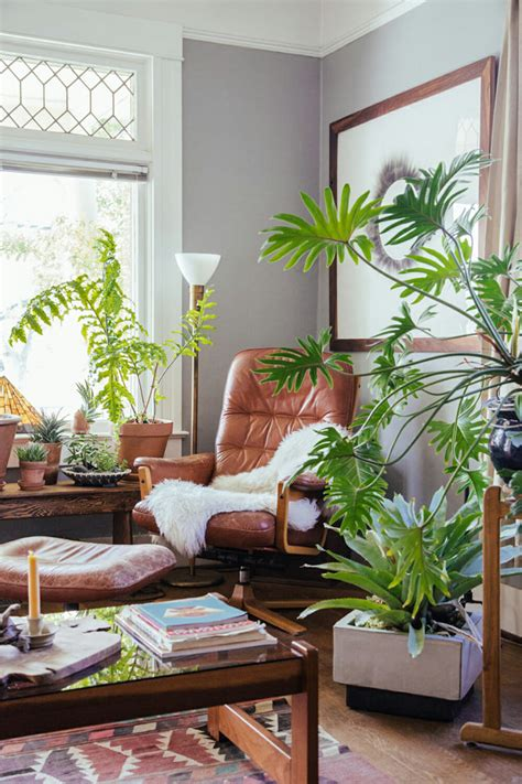 how to design at home decorating with plants modernize