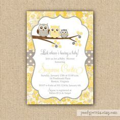 Yellow And Grey Owl Baby Shower by 1000 Images About Manda S Baby Shower On Owl