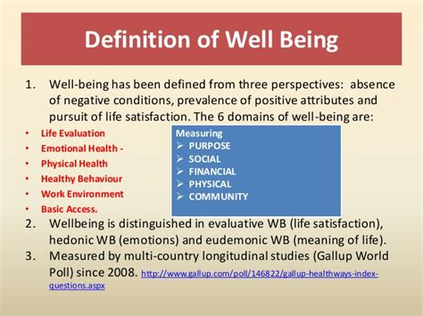 Well Outlined Meaning by Quality Of Qol And Wellbeing Wb Differences And Similariti
