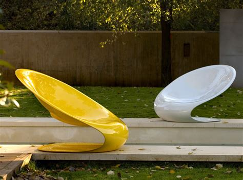modern outdoor chair disk by karim rashid modern outdoors