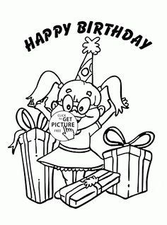 happy birthday brother coloring pages happy birthday brother coloring page for kids holiday