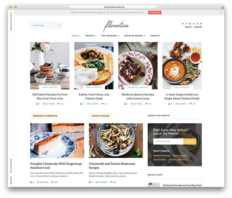 blogger themes food 25 awesome food wordpress themes to share recipes 2018