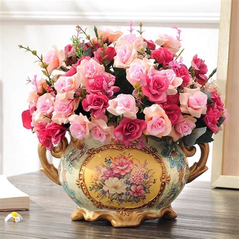 Living Room Flower Vase by Flower Decoration Flower Vase Set The Living Room Table
