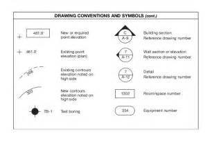 Architectural Drawing Sheet Numbering Standard new or required point elevation building section reference