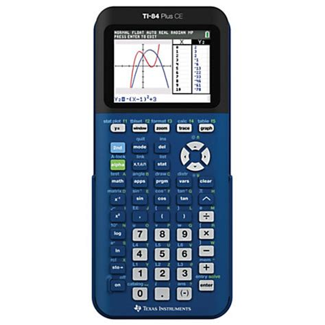 Office Depot Calculators by Instruments Ti 84 Plus Ce Graphing Calculator By
