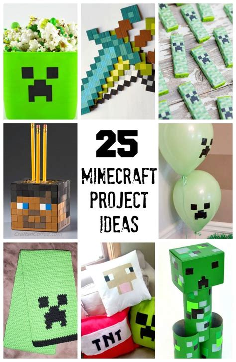 minecraft arts and crafts projects 25 best ideas about minecraft activities on