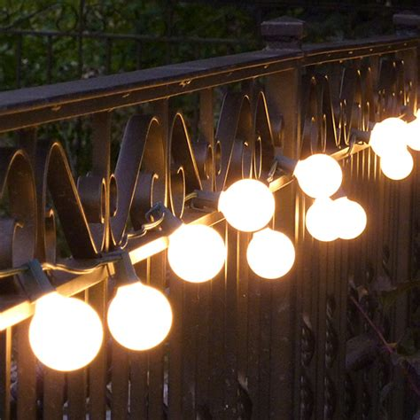 Patio Light Stringer Vintage Outdoor String Lights Ideas Homesfeed