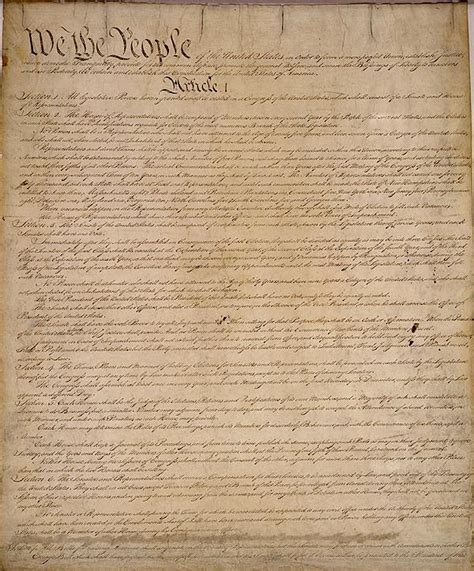 printable original us constitution thisnation com the united states constitution