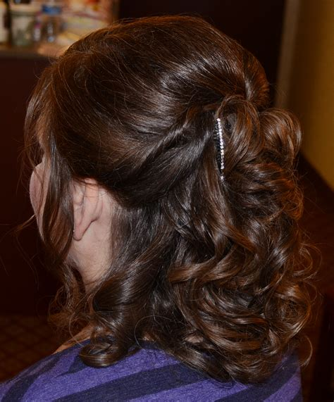 mother of the bride half up half down wedding hairstyles half up half down mother of the bride medium length long