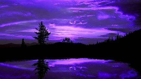imagenes de paisajes sin color fondo pantalla lago y noche