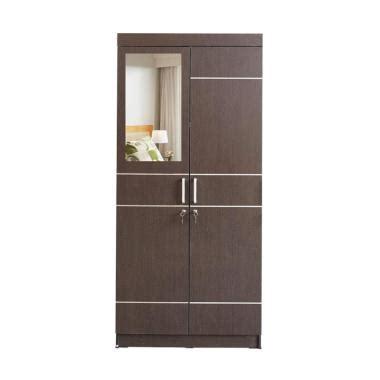 Info Lemari Es 2 Pintu jual lemari pakaian 2 pintu ruteran dan cermin