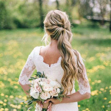 Wedding Hairstyles Hair To The Side by The Best Wedding Hair Tips For Wearing A Side Ponytail