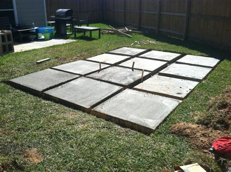 building a patio a roll acosta diy backyard patio part 2