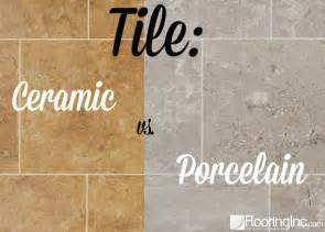 tile ceramic vs porcelain flooringinc blog