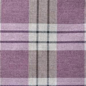 Striped Upholstery Fabric Uk Kintrye Heather Purple Tartan Check By Fryetts From Eden