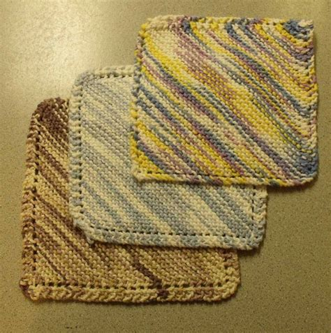 a knit kweenbee and me knit a simple dishcloth