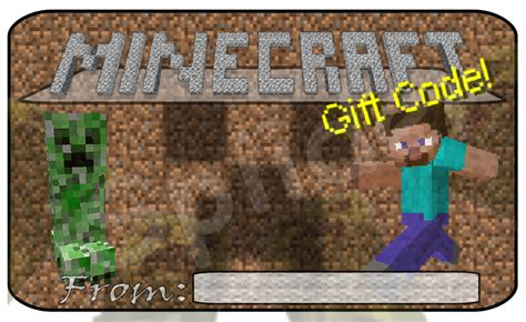 What Do Minecraft Gift Cards Do - gift code cards fan art show your creation minecraft forum minecraft forum