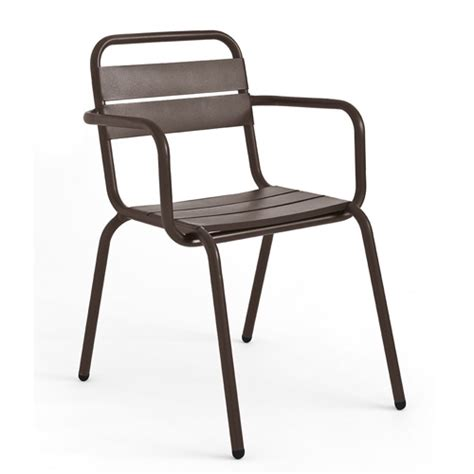 Rochelle Armchair by La Rochelle Aluminium Armchair Jb Commercial Contract Furniture