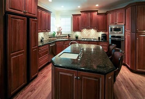 glass front kitchen cabinets transitional kitchen kvanum frosted glass cabinet kitchen transitional with television