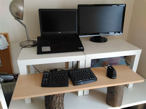 Stand Up Desk Diy Create A Cheap Easy And Diy Stand Up Desk Nest And Glow