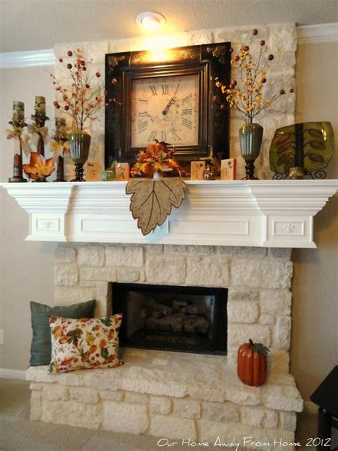 Fireplace Decorations For Fall by Fall Mantle Decorating The Mantel That S