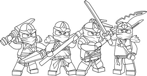 rebooted ninjago coloring sheets coloring pages