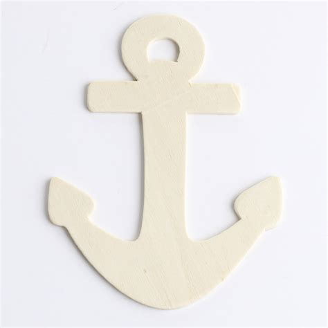 pattern for wood anchor unfinished wood anchor cutout wood cutouts unfinished