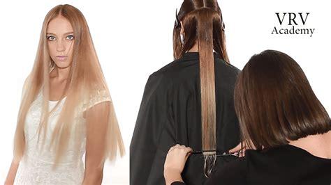 how to cut hair straight across in back как подстричь ровную линию стрижка одной длины стрижка на