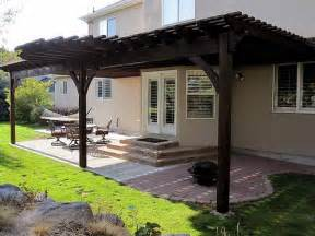 Attached Pergolas by How To Free Attached Pergola Plans How To Build Pergola