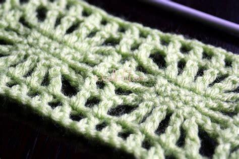 spider stitch knitting how to crochet the spider stitch written