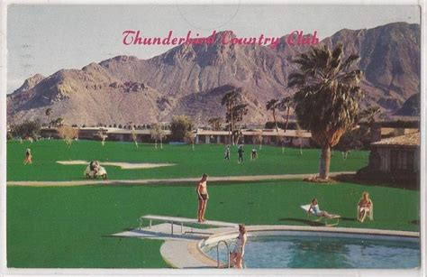 thunderbird golf course palm springs