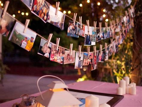 Decoration Ideas For Birthday Party At Home by 18 Inspira 231 245 Es Para Montar Um Painel De Fotos Em Sua Festa