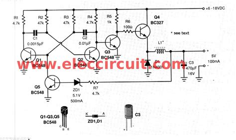 transistor voltage regulator circuit 5v switching regulator circuit using transistor eleccircuit