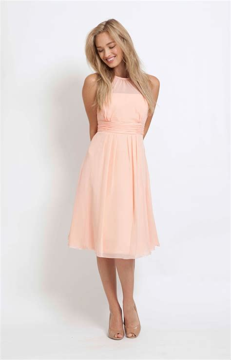 25  best ideas about Peach bridesmaid dresses on Pinterest