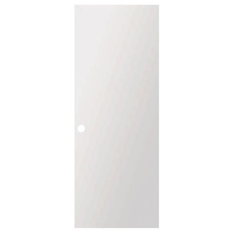 Pre Bored Interior Doors Steves Sons 32 In X 80 In Flush Hollow Primed White Pre Bored Composite Interior Door