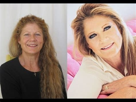 makeover for 50 year old make up make over kandee johnson youtube