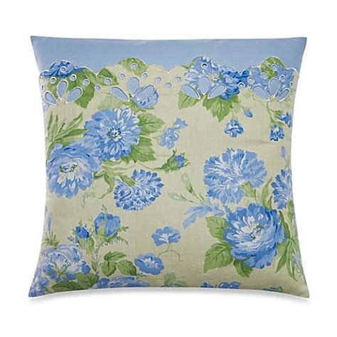 laura ashley bed pillows laura ashley 174 salisbury square toss pillow bed bath beyond