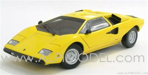 yellow lamborghini countach kyosho 08321y lamborghini countach lp400 yellow 1 18